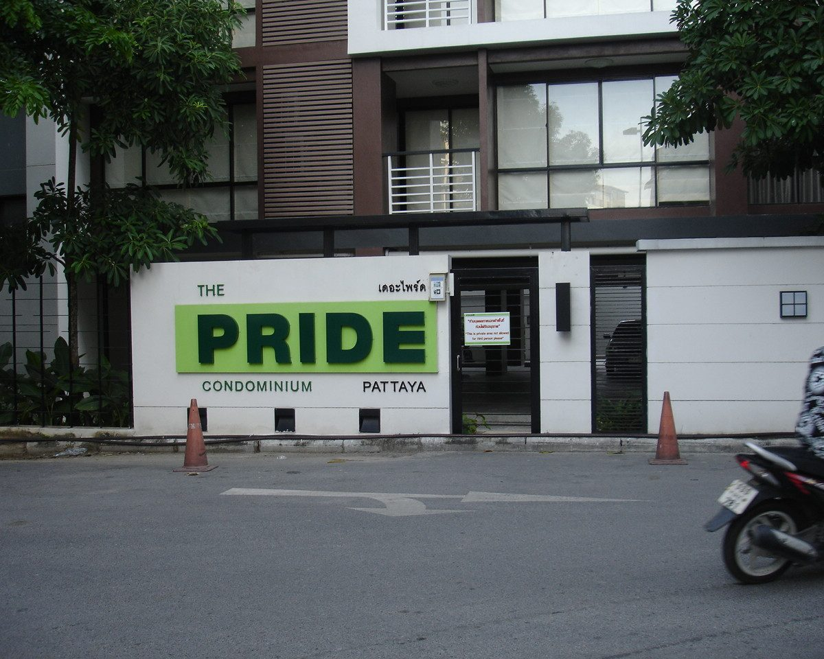 The Pride Condo Pattaya Center, high quality apartment