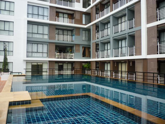 The Pride Condo Pattaya Center, a small scale high quality building